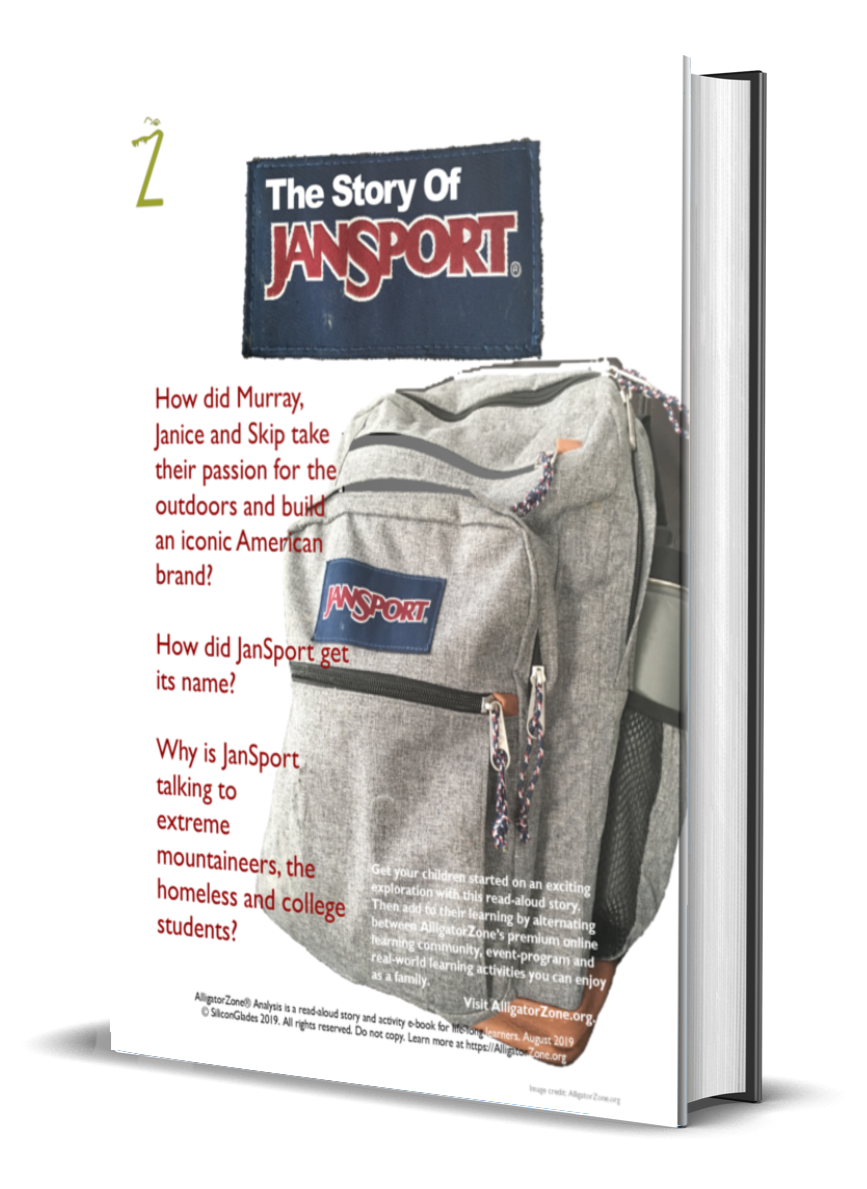 AlligatorZone Entrepreneurship Storytelling Curriculum- Jansport
